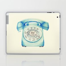 Rotary Telephone - Ballpoint Laptop & iPad Skin