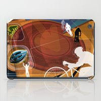 cycling iPad Cases featuring Cycling by Robin Curtiss