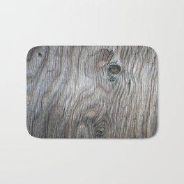 Real Aged Silver Wood Bath Mat