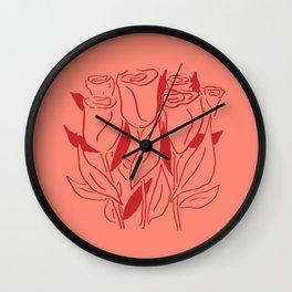 Rosey Life Wall Clock