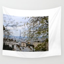 View From Sacre Coeur Wall Tapestry