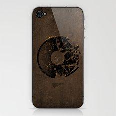 Broken Vinyl Dont Play iPhone & iPod Skin