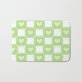 Love is Green Bath Mat