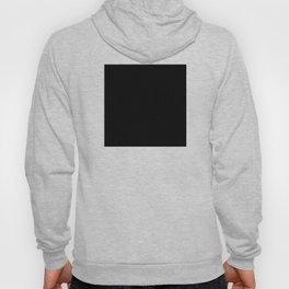 Minimalist Black Square Hoody