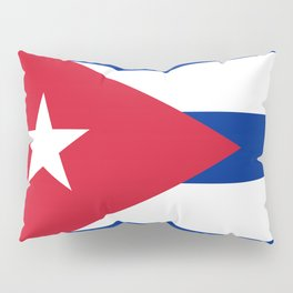 National flag of Cuba - Authentic HQ version Pillow Sham