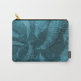 Ferns (light) abstract design Carry-All Pouch