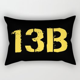 13B Cannon Crewmember Rectangular Pillow