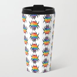 the gay spider pattern Metal Travel Mug