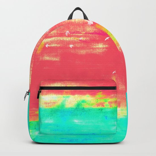 Magenta Sky Backpack