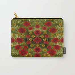 Sun Roses In The Deep Dark Forest Of Fantasy Carry-All Pouch