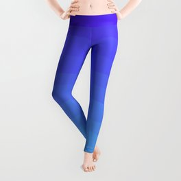 Cobalt Light Blue gradient Leggings