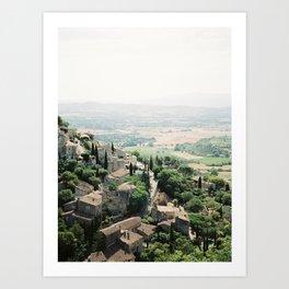 Gordes, Luberon - View Art Print