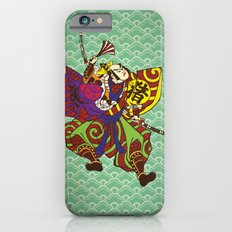 Samurai with vintage japan painting style Slim Case iPhone 6s