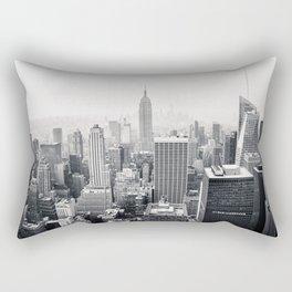New York View Rectangular Pillow