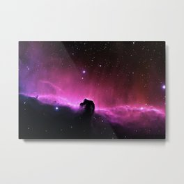 Horsehead Nebula in the Constellation Orion Metal Print