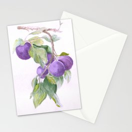 Plums Stationery Cards