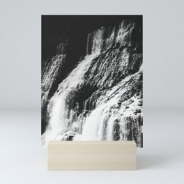 Forest Waterfall Mini Art Print