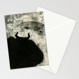 Minotaur in Hiding Stationery Cards