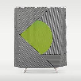 dot & stripes Shower Curtain