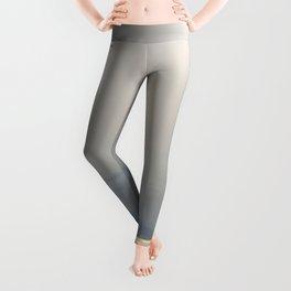 Silver Grey Hues of Gokova Bay Leggings