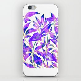 Ultraviolet Nature iPhone Skin