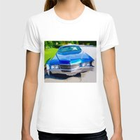 coachella T-shirts featuring 1970 Cadillac Eldorado by Bruce Stanfield