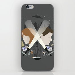 The Light in Dark Places iPhone Skin