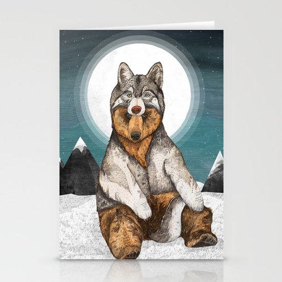 Wear Wolf Stationery Cards