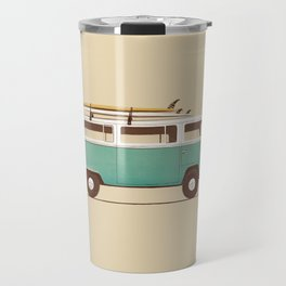 Van - Blue Travel Mug