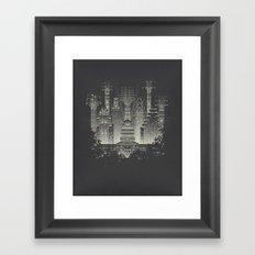 Live Music Capital Framed Art Print