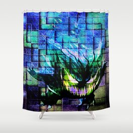 Gengar Blix Shower Curtain