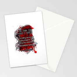 GamerLife Stationery Cards