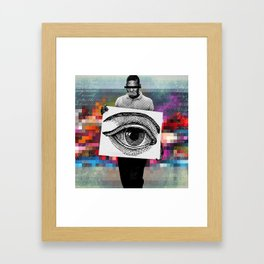 Voice Framed Art Print
