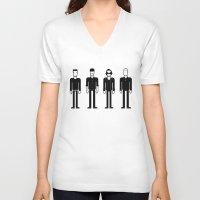u2 V-neck T-shirts featuring U2 by Band Land