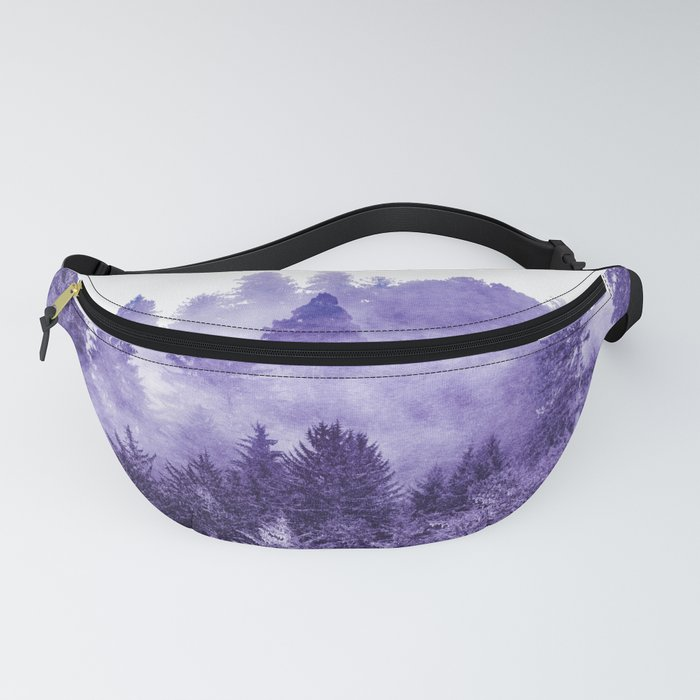 Lost In Space Ultra Violet Fanny Pack