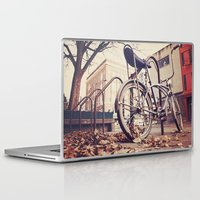 bicycle Laptop & iPad Skins featuring Bicycle by iD70my