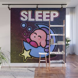Kirby Sleep Wall Mural
