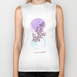 30 // Abstract 9 March 2017   Abstract Shapes Art Colour Biker Tank
