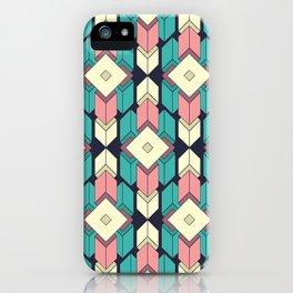 Looping Geometry I iPhone Case