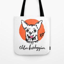 Chloe Kardoggian Illustration with Signature Tote Bag