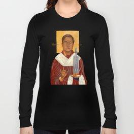 Holy Prophet Elon Musk isolated Long Sleeve T-shirt