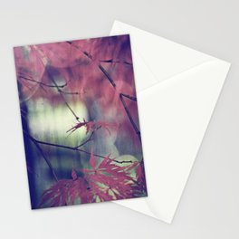 maple leaf love Stationery Cards