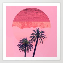 Surreal Summer Art Print