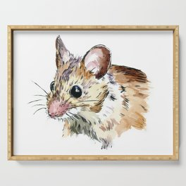 Little Brown Mouse Serving Tray