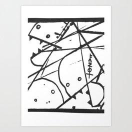 NAILBITERS Art Print