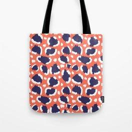 Funky leopard Tote Bag