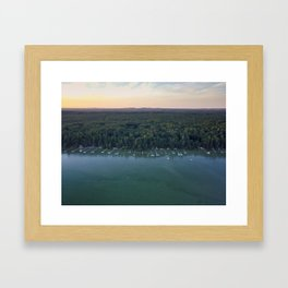 Cottage Grove Framed Art Print
