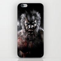 werewolf iPhone & iPod Skins featuring Werewolf by Joe Roberts