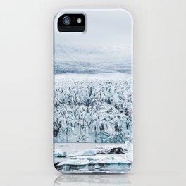 Fjallsarlon Iceberg Lagoon iPhone Case