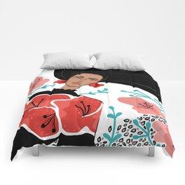 Poppy Fashion Illo Comforters